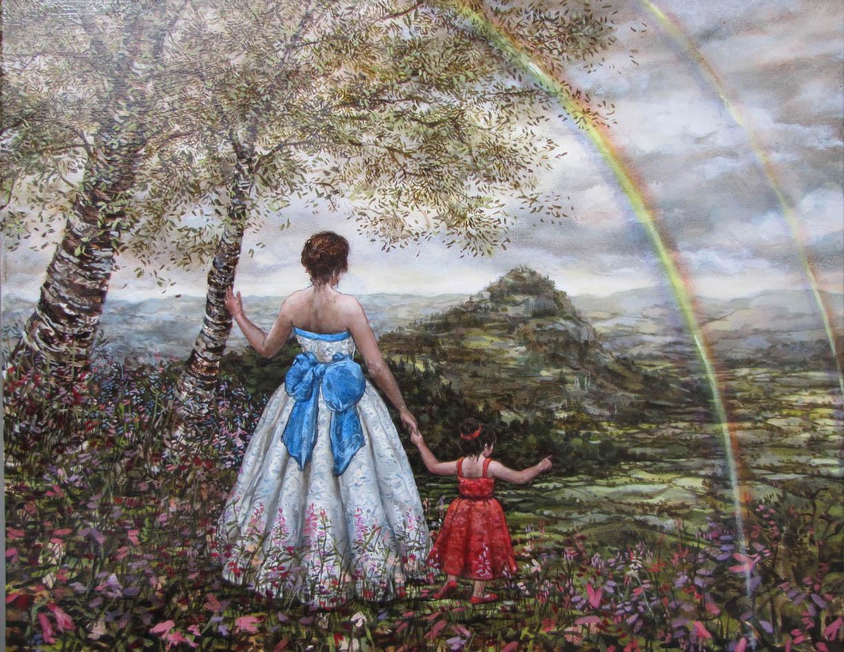 Land of Faraway oil on canvas 2013 100cm x 80cm