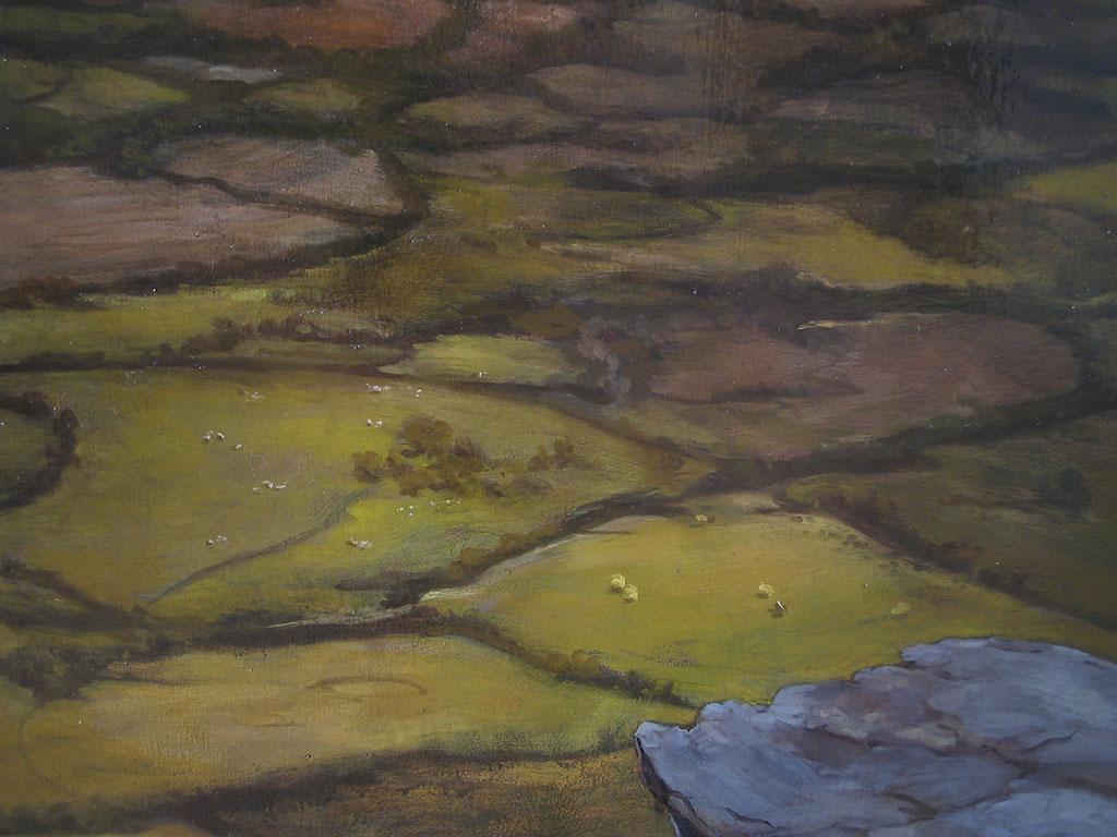 Regina Res Publica (detail), 2004, Oil on canvas, 167.6 x 224.8 cm