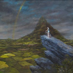 'Regina res Publica' 2004 Oil on canvas 66 x 88.5 Inches