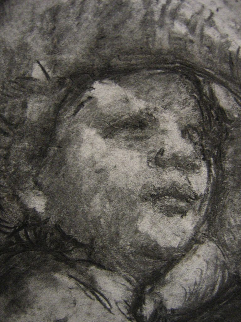 Father and Son, (detail) 2005