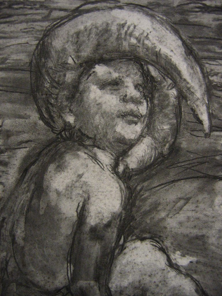 Father and Son, (detail) 2005a