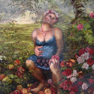 Fruits of The Forest, 2006, oil on canvas 180cm x 135cm