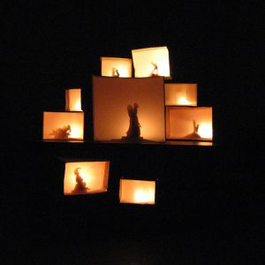 Nights at Fairy Hill, 2006 (box Installation)