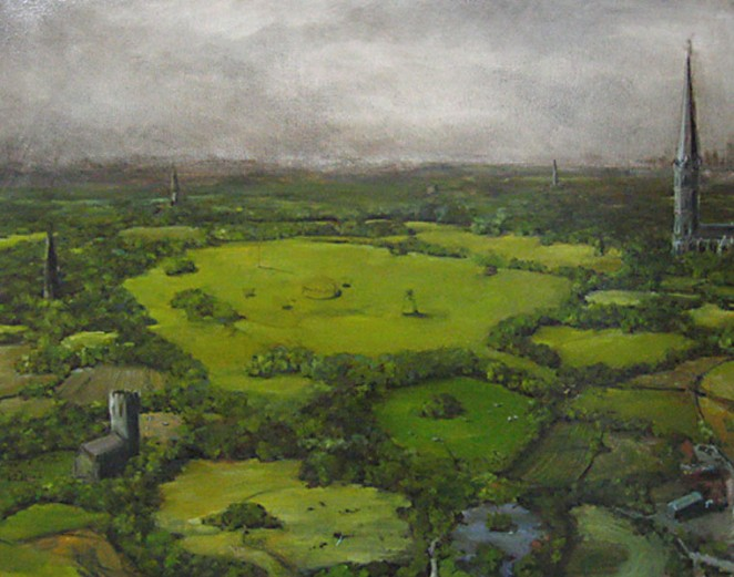 The Parishes 2005 Oil on canvas 71cm x 56cm