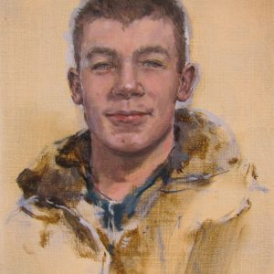 Connor, 2011, Oil on canvas, 26 cm x 20 cm