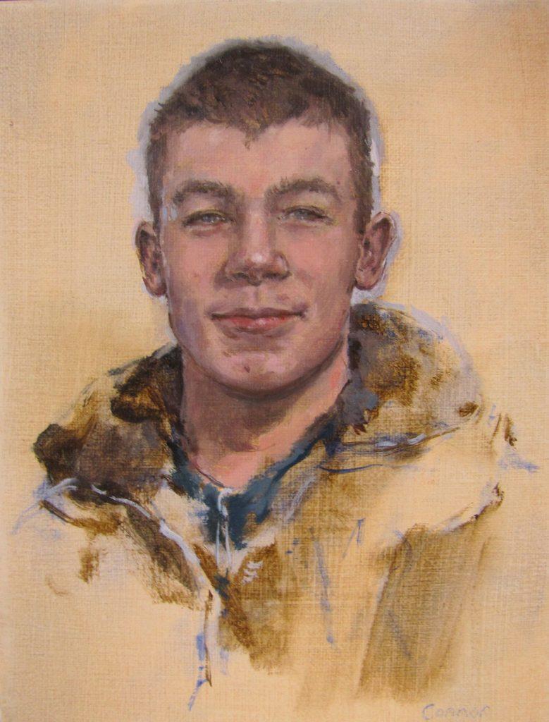 Connor, 2011, Oil on canvas, 26 cm x 20 cm
