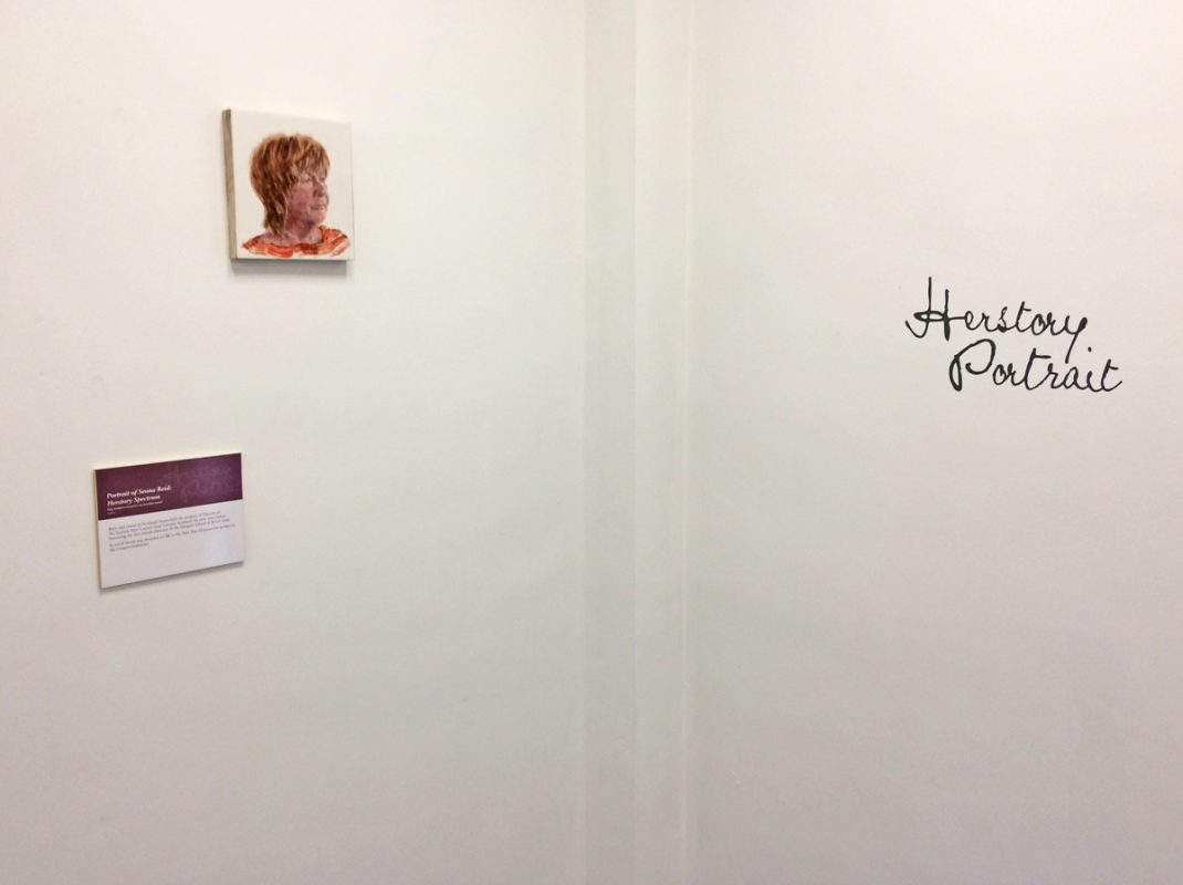 Herstory Portrait, Leeds Arts University, July 2019