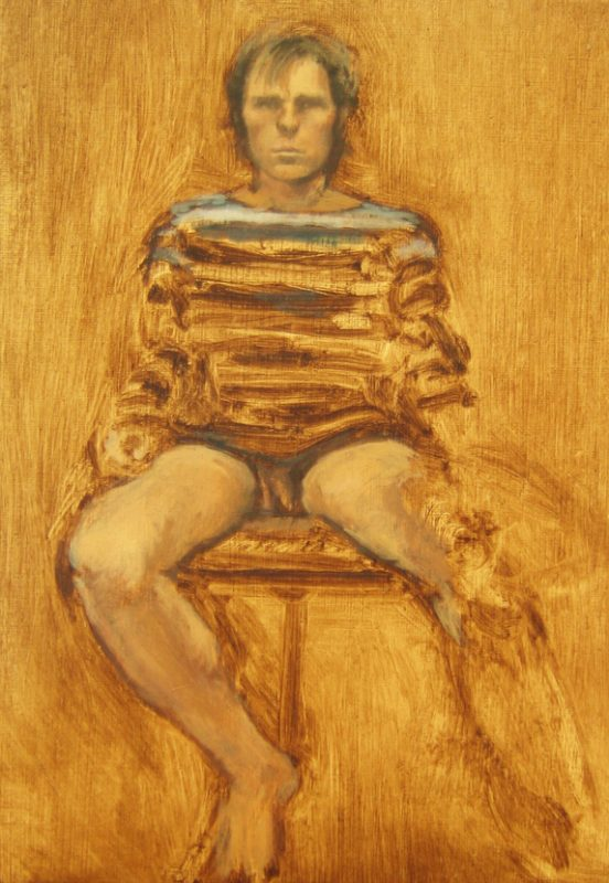Johnny Cock n' Balls, 2009,Oil on canvas board, 24 x 18 cm