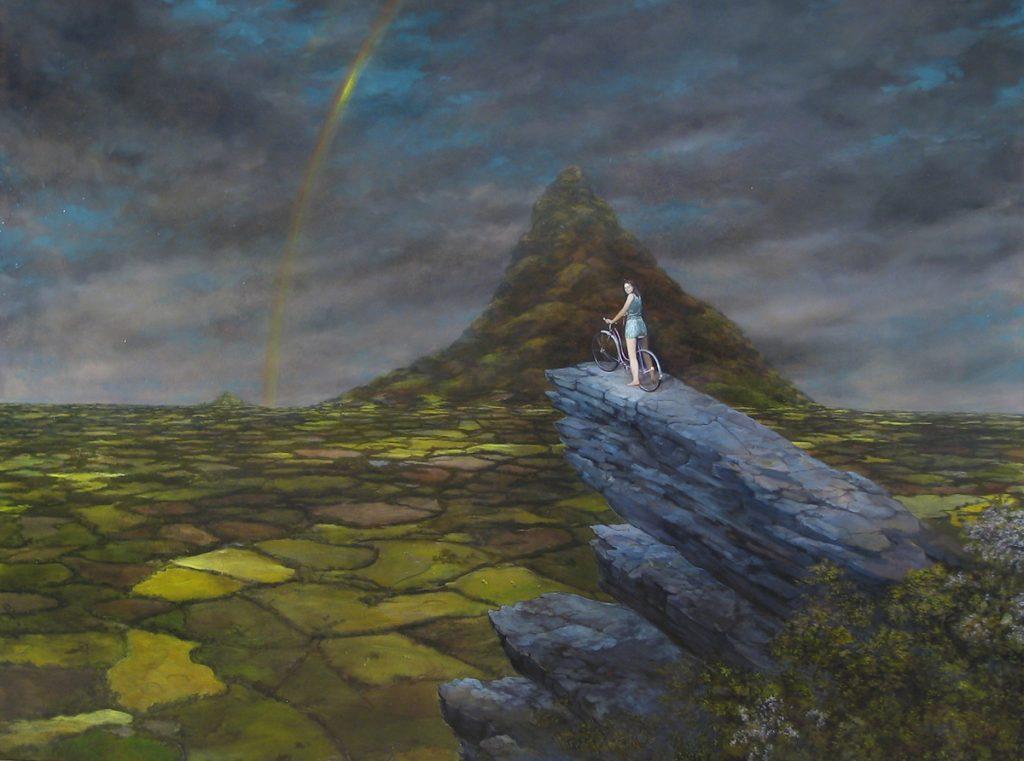 Regina Res Publica Oil on canvas 2004
