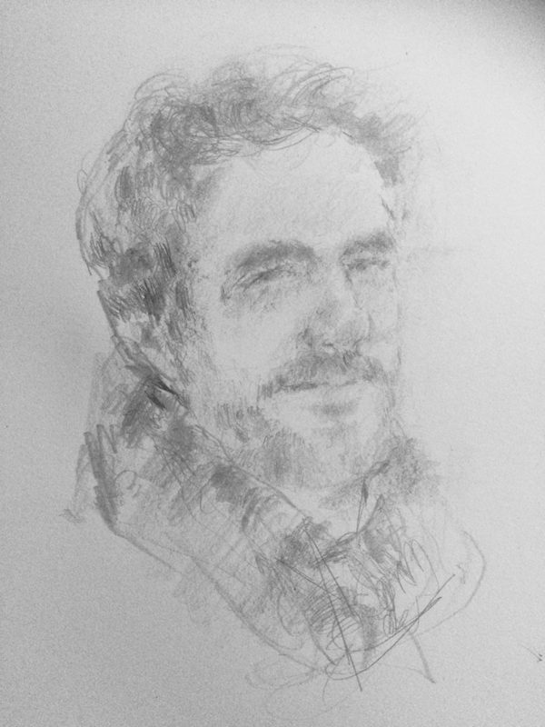 Richard Parry 2018 pencil on paper 29 x 21cm