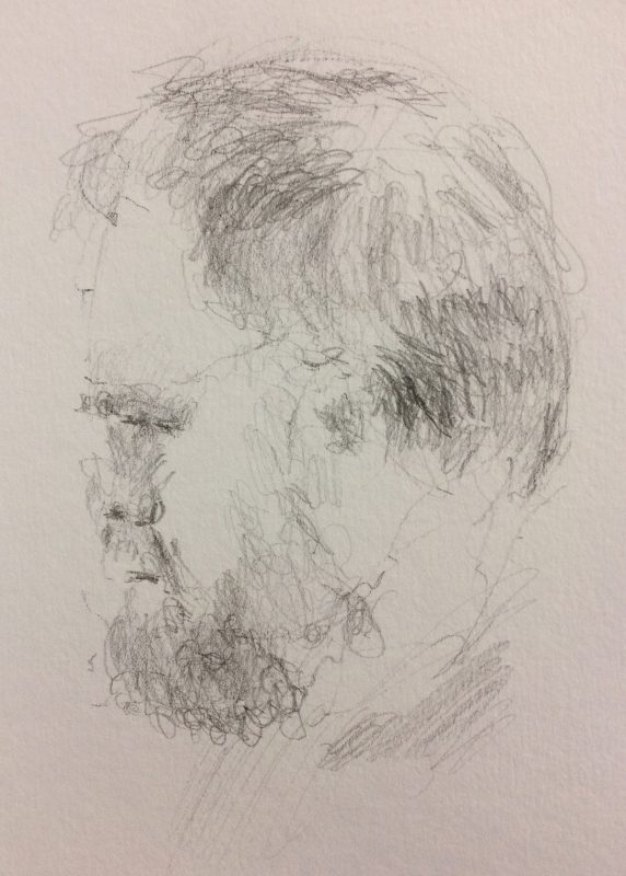 Philip Randay 2018 pencil on paper 29 x 21cm