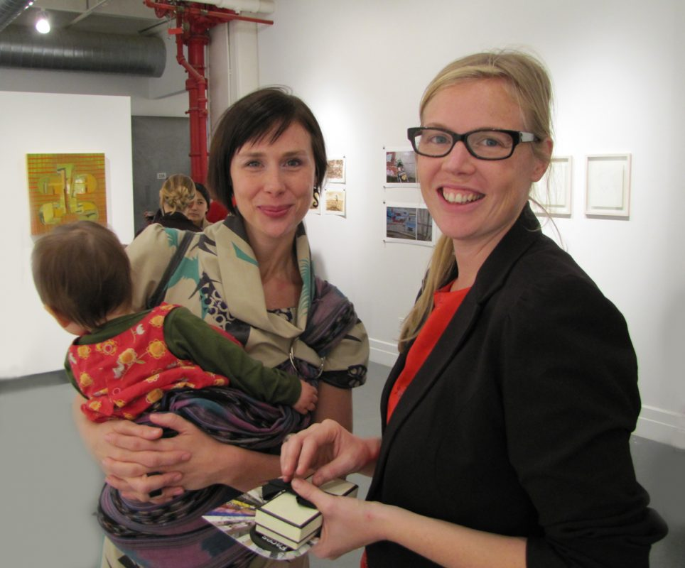 Curator Jen Wroblewski, Mother/mother, AIR Gallery, NYC, 2009