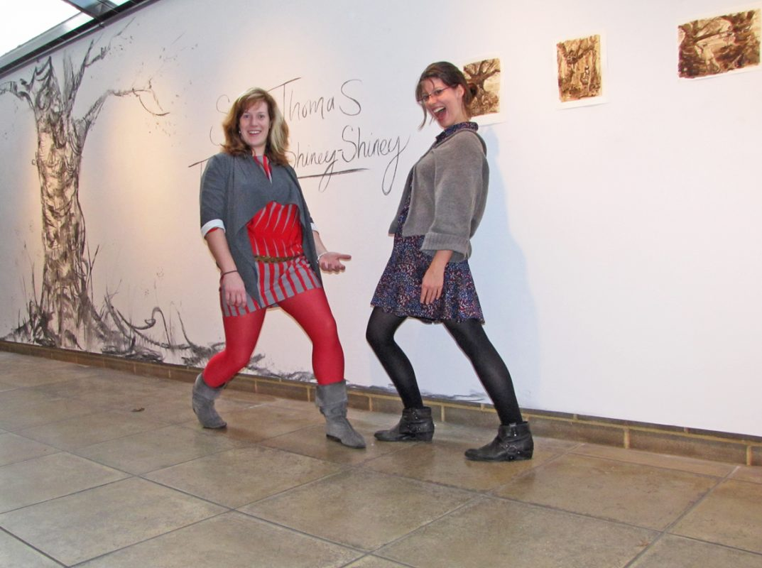 Opening of Tales of Shiney - Shiney with Sarah, 2009, Northwall Arts Centre, Oxford, November 2009