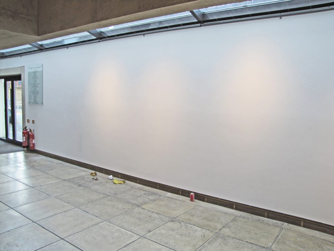 Installation of Tales of Shiney-Shiney install, Northwall Arts Centre, Oxford, November 2009