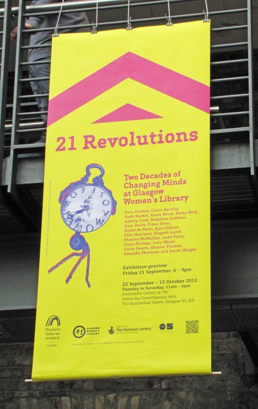 21 Revolutions, CCA, 2012