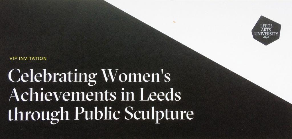 Feminist Public Sculpture, LAU, VIP invite 2019