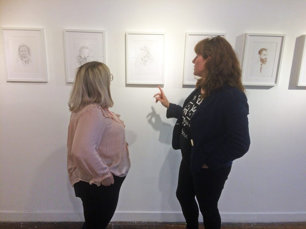 Gemma and Sharon, Barberium, 2019