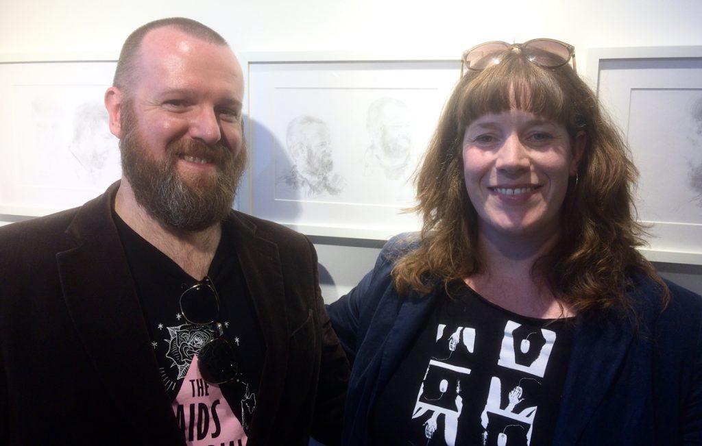 David and Sharon, Barberium, 2019