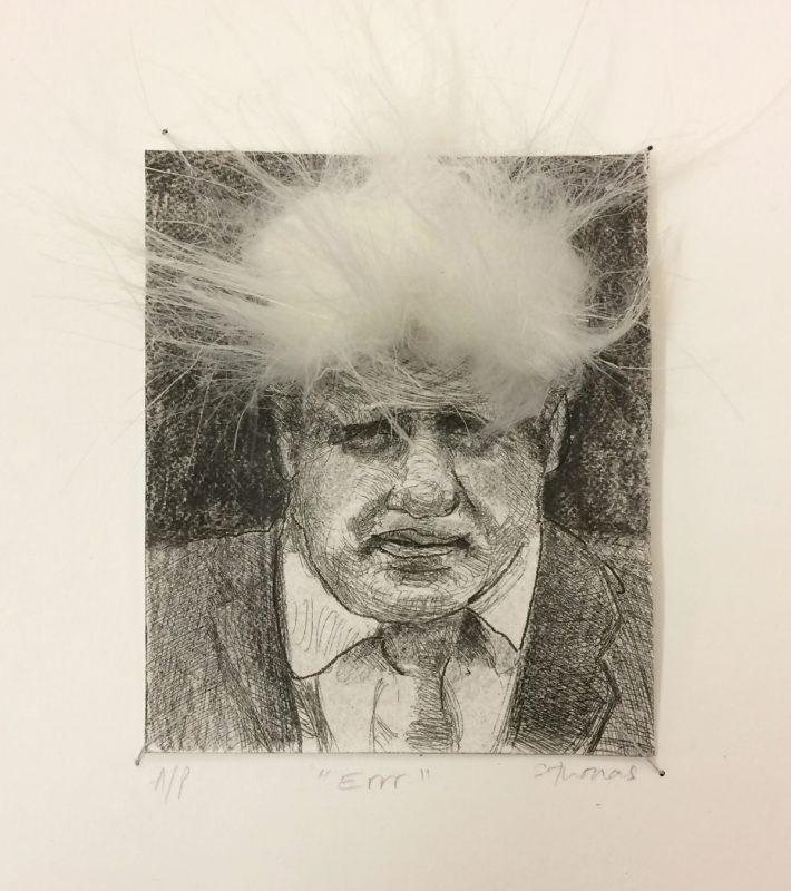 Errr 1, 2019, Etching, 12 x 10 cm