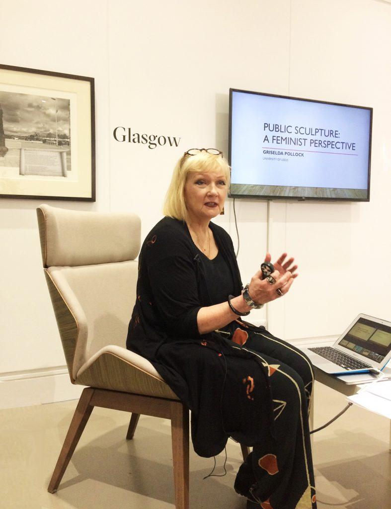 Griselda Pollock, Feminist Public Sculpture Symposium, LAU, 2019