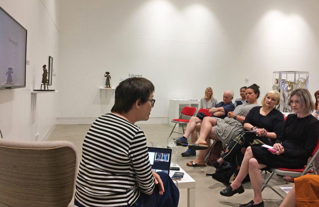 Hazel Reeves, Feminist Public Sculpture Symposium, 2019