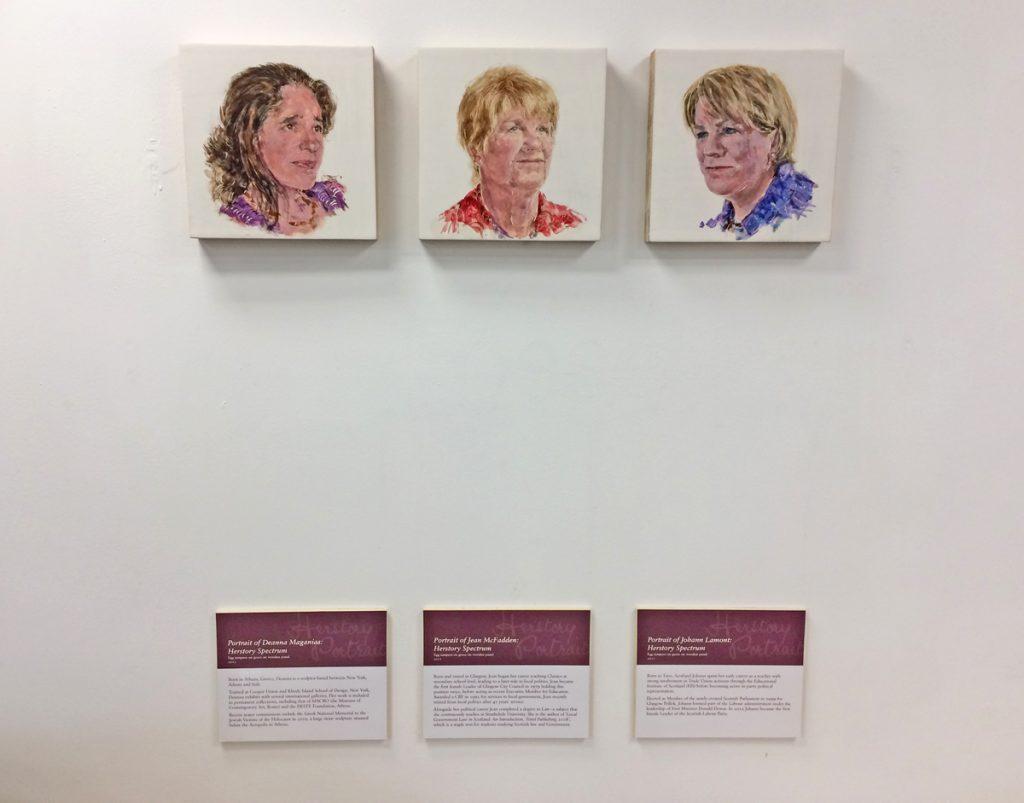 Herstory Portrait, Leeds Arts University, 4 July 2020