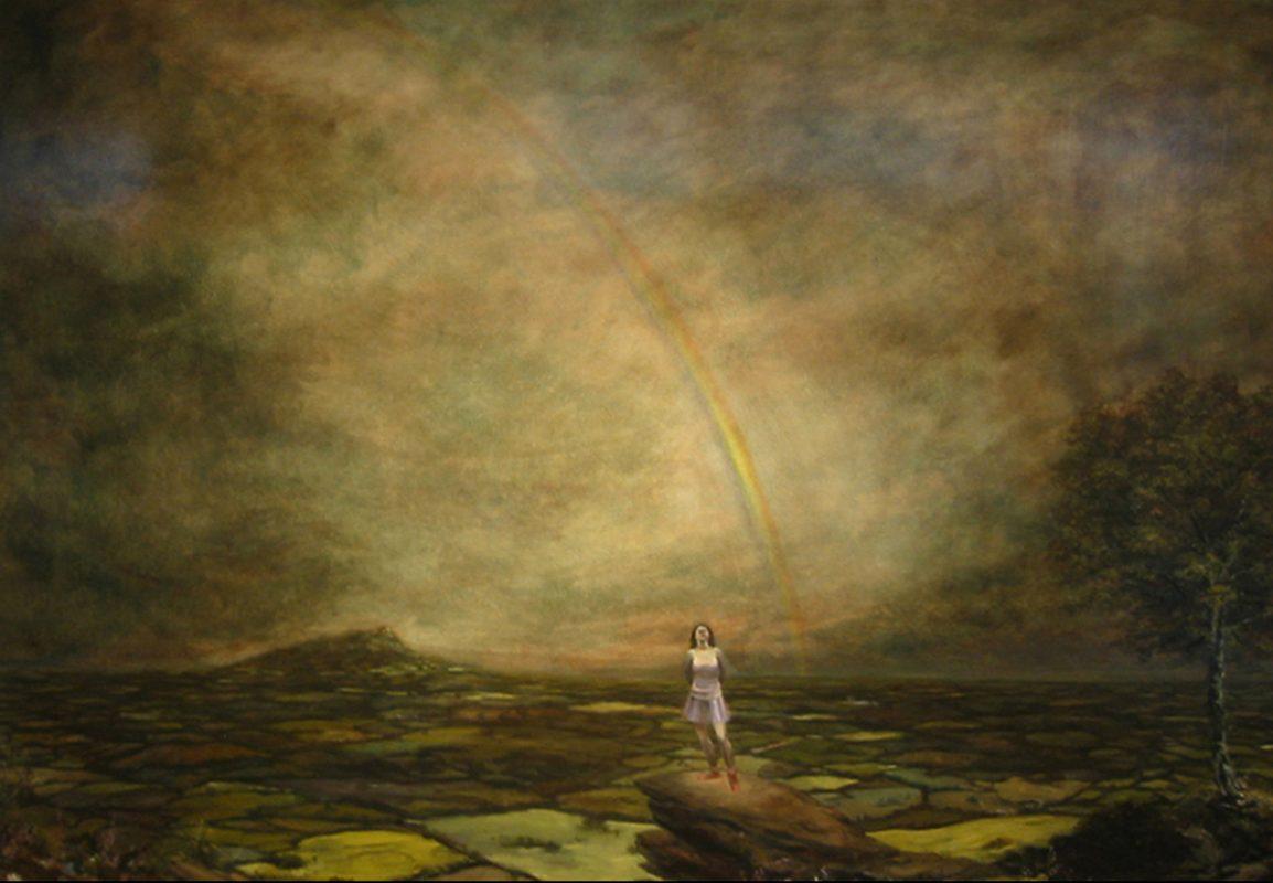 New Jerusalem, 2004, Oil on canvas, 102 x 152 cm