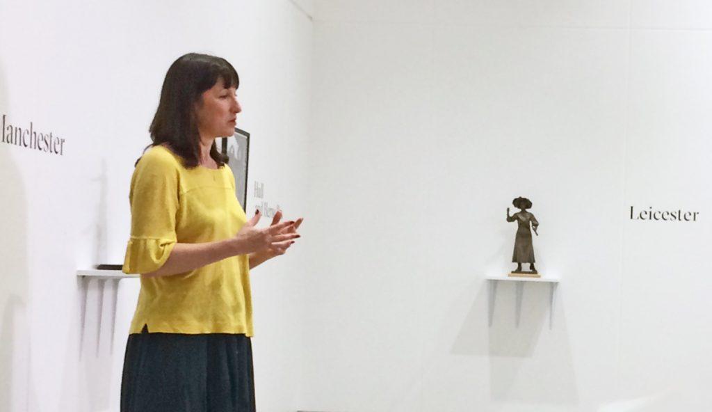 Rachel Reeves, Feminist Public Sculpture Symposium, LAU, 2019