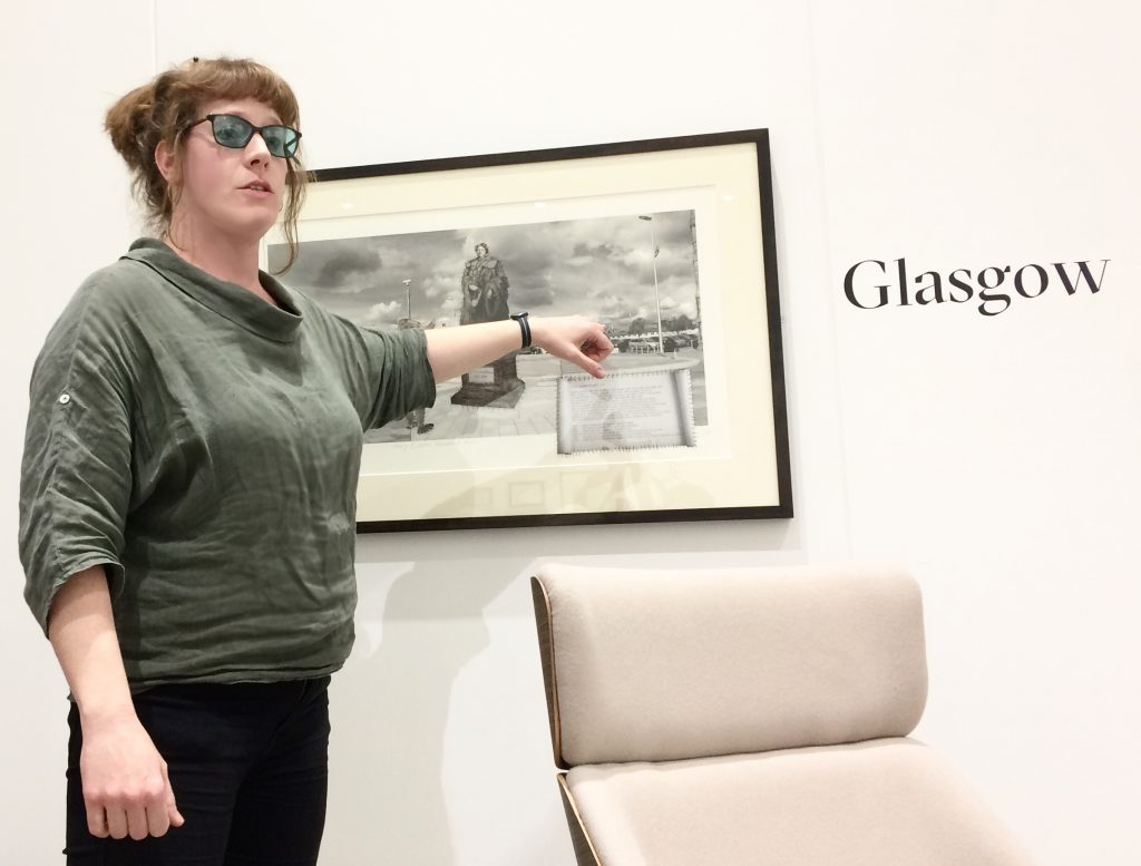 Sharon Thomas, Feminist Public Sculpture Symposium, LAU, 2019