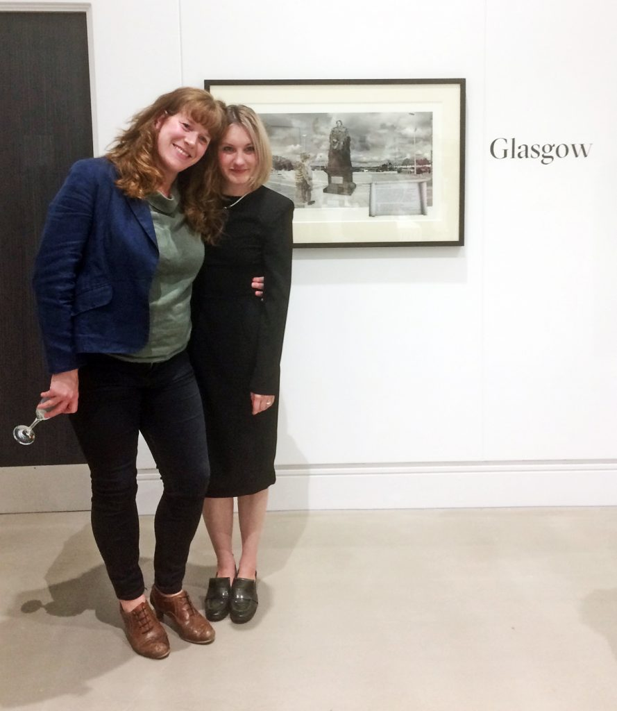 Sharon and Catriona McAra, Leeds Art Uni, 2019