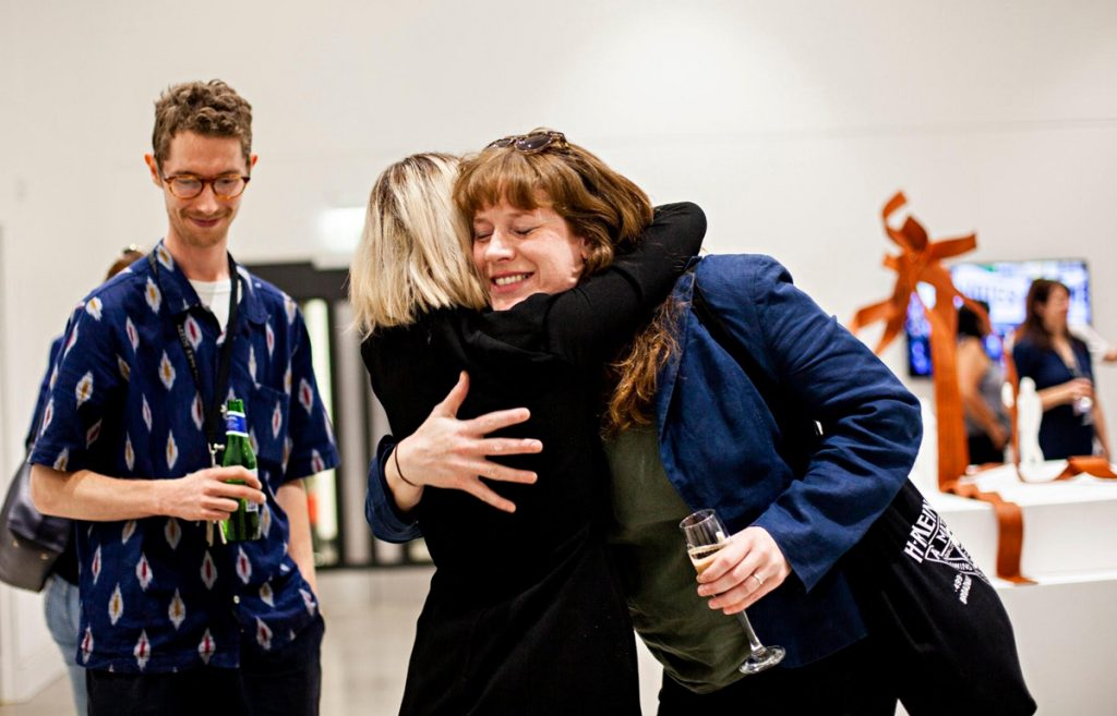 Sharon and Catriona McAra, Leeds Art Uni, 2019