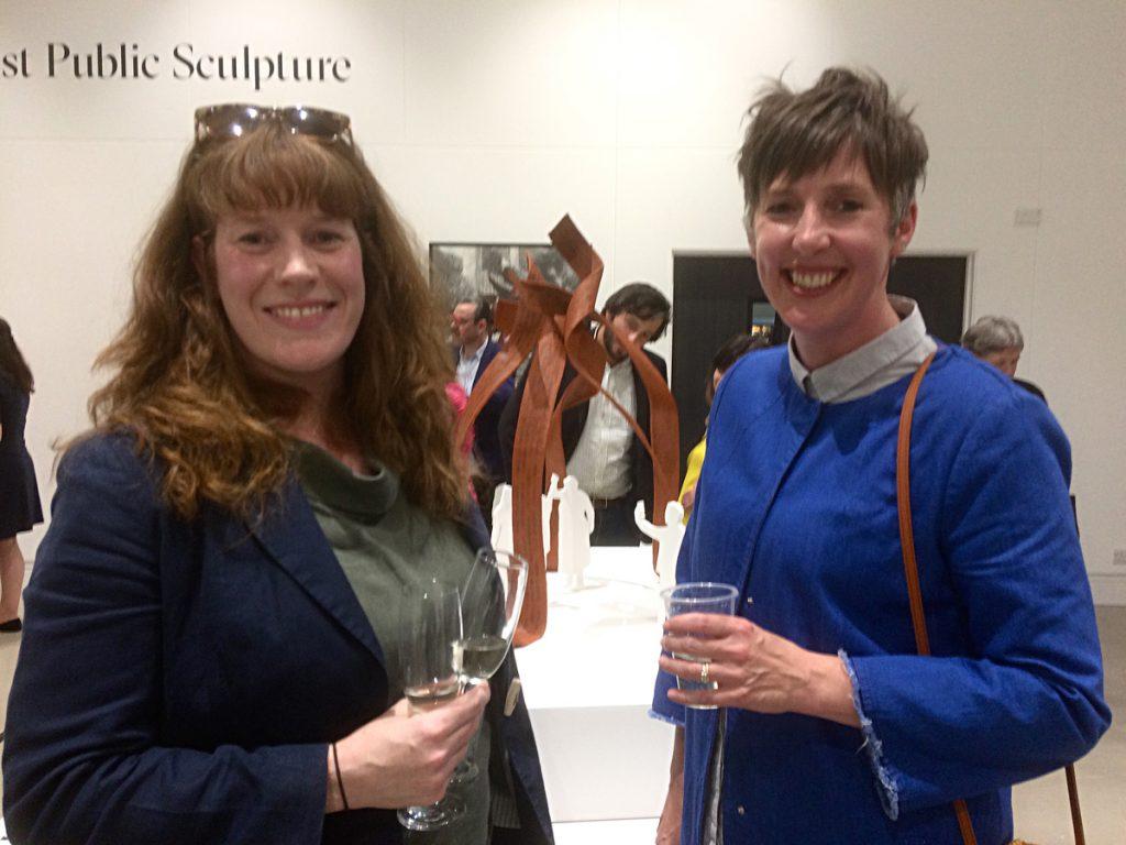 Sharon and Pippa Hale, Leeds Art Uni, 2019