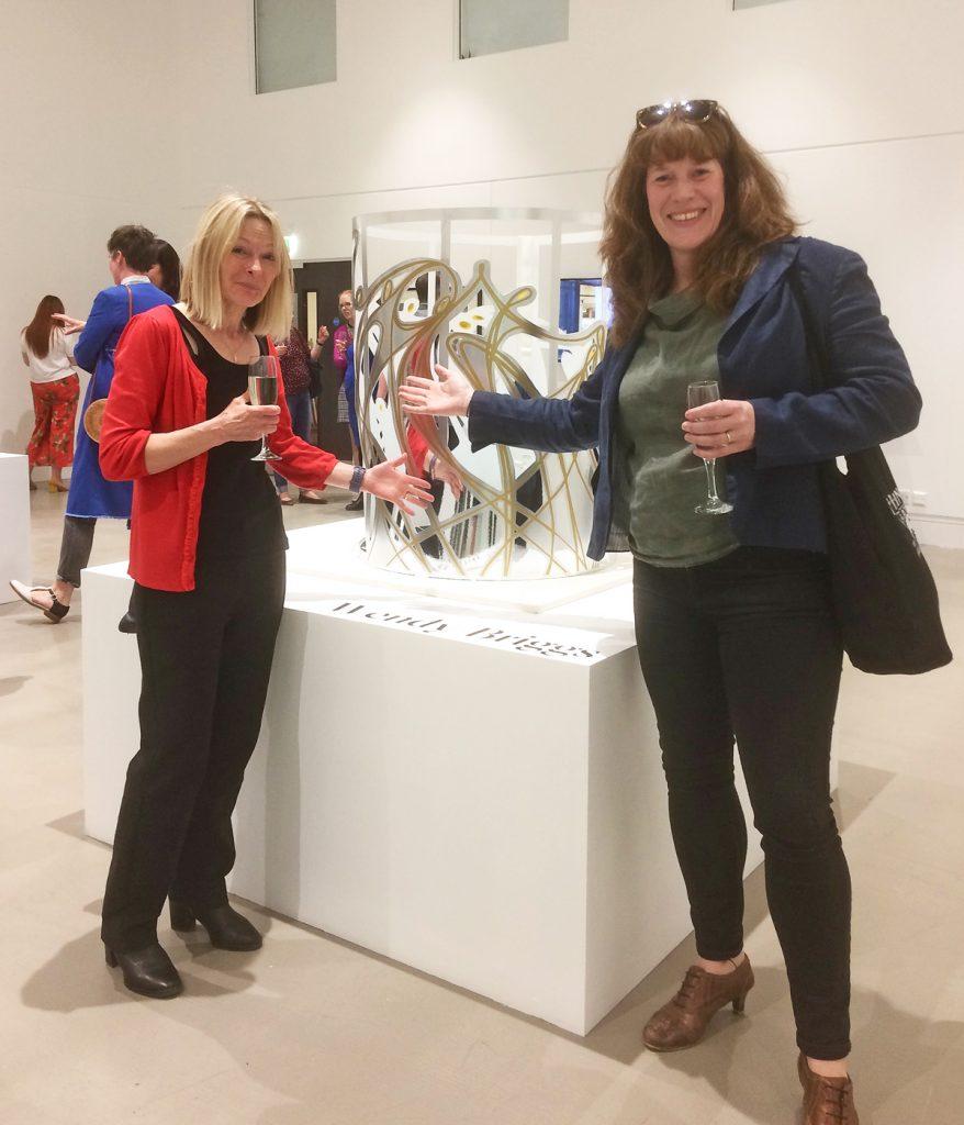 Sharon and Pippa Wendy Briggs, Leeds Art Uni, 2019