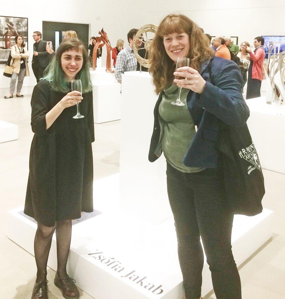 Sharon and Zsofia Jakab, Leeds Art Uni, 2019