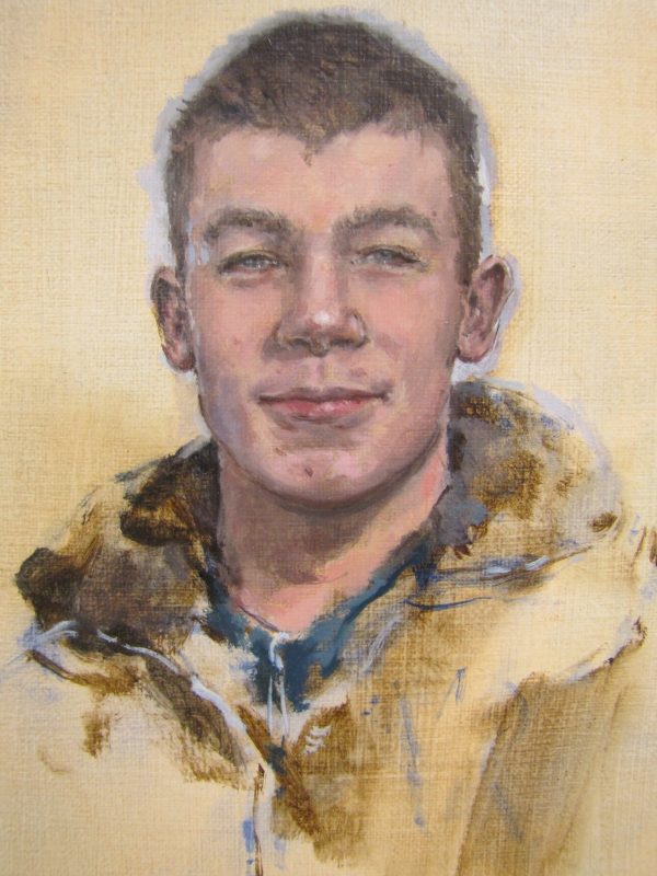 Connor, 2011, Oil on canvas, 24 x 18 cm