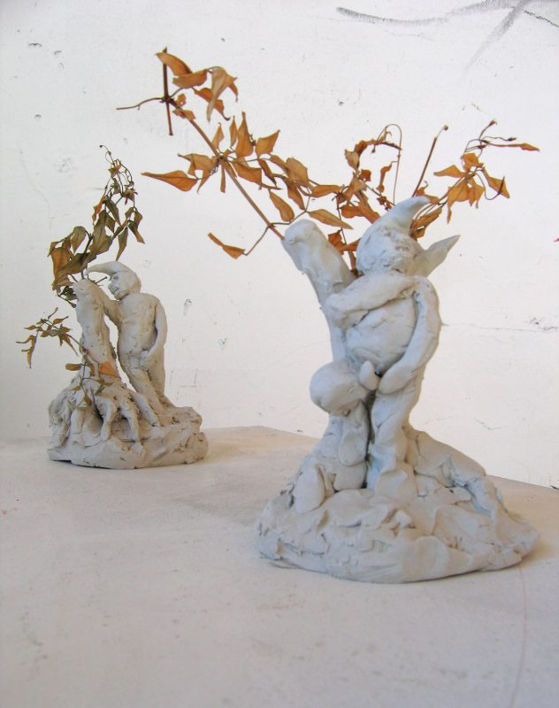 Nights at Fairy Hill, 2006, clay and mixed media, dimensions variable