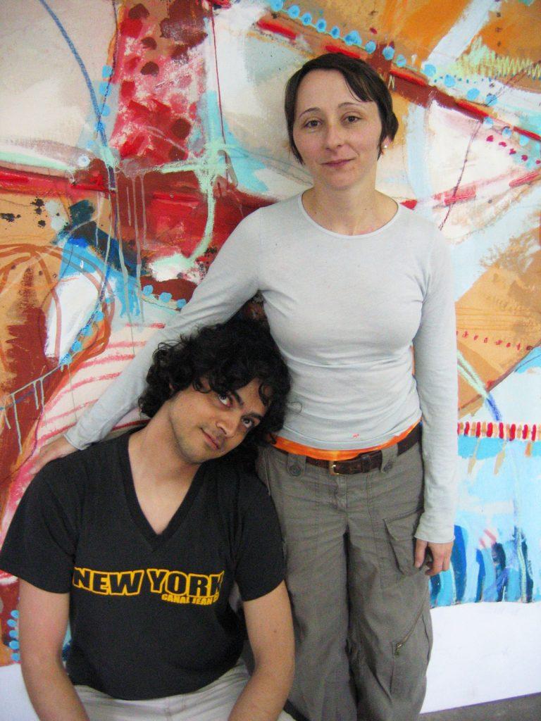 Crane St Open Studio view NYC 2005