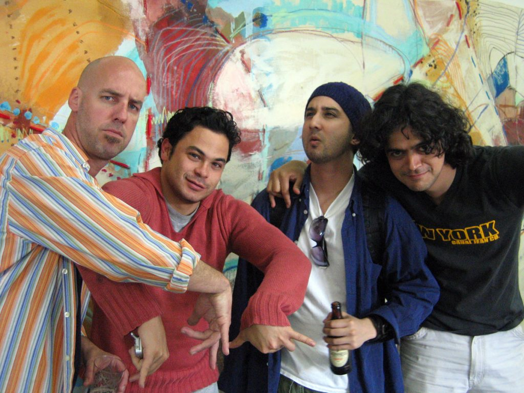 Gonzales Fuenayor and crew Crane St 2005