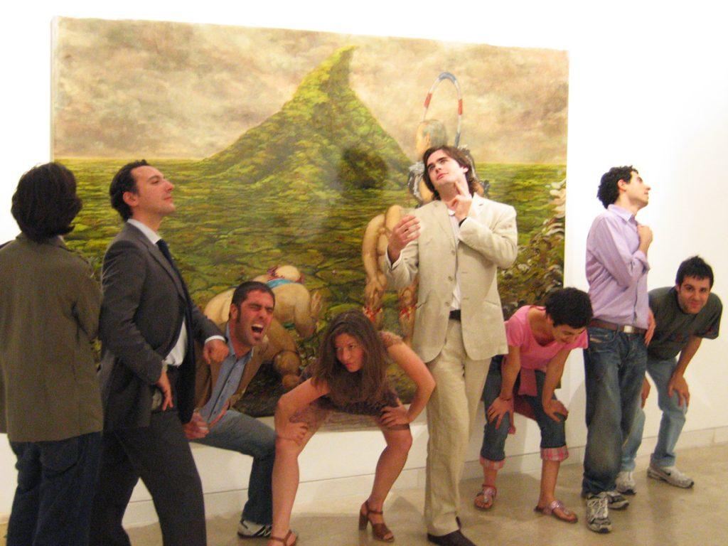 Overlap 3 exhibition opening 2006