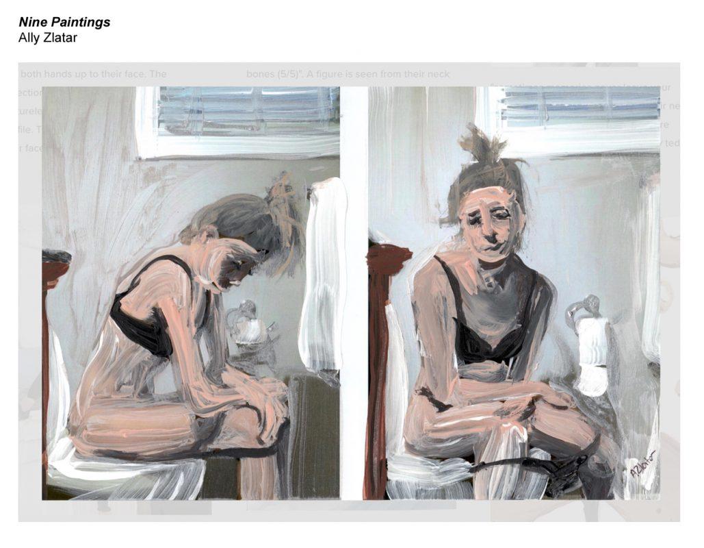 Ally Zlatar, Nine Paintings